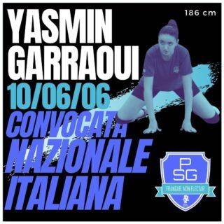 È con grande orgoglio che annunciamo la convocazione ad uno stage con la Nazionale allieve per la nostra Yasmin Garraoui 🇮🇹 Dal 10 al 12 settembre Yasmin sarà così impegnata a Milano presso il Centro Pavesi della FIPAV 💙