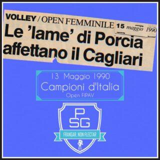 🇮🇹 30 anni fa la Polisportiva San Giorgio conquistava la scudetto Open FIPAV 🎉💙🏐